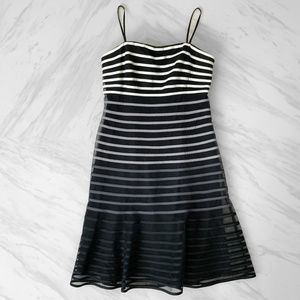 JS Collections Striped Dress